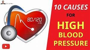 Top 10 Causes Of High Blood Pressure
