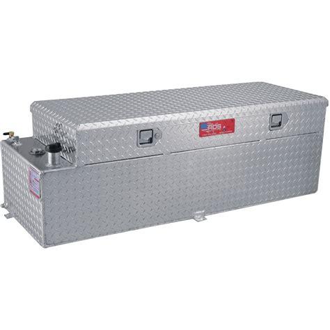 RDS Aluminum Auxiliary Fuel Tank Toolbox Combo ? 51 Gallon
