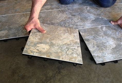 basement flooring concrete