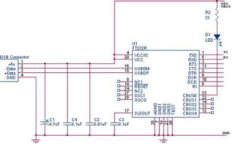Serial Usb Converter Pinout Diagram Pinouts