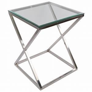 Tisch Glas Metall : tisch verchromt glas tischplatte beistelltisch glas metall tisch glas verchromt metall h he 77 cm ~ Markanthonyermac.com Haus und Dekorationen