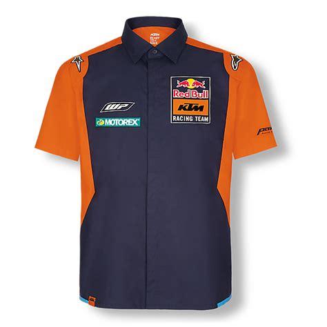 red bull ktm factory racing shop official teamline hemd