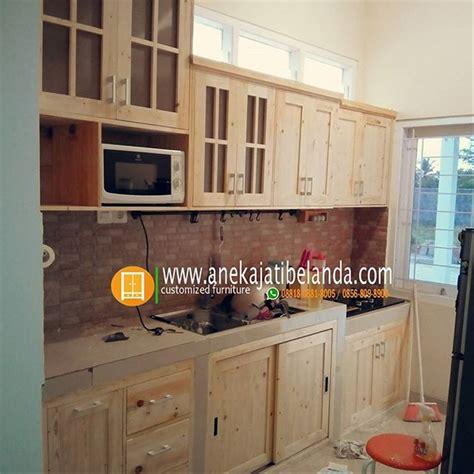 jual kitchen set jati belanda  lapak furniture jati