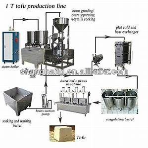 Tg-250 Soya Milk Making Line  Tofu Production Line