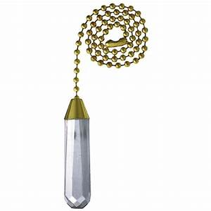 Westinghouse acrylic cylinder pull chain  the