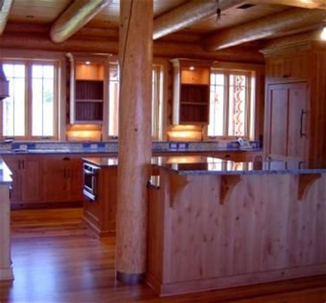 custom knotty alder kitchen cabinets solid wood