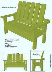 Free Garden Bench Guide: Simple To Build Garden Bench. I ...