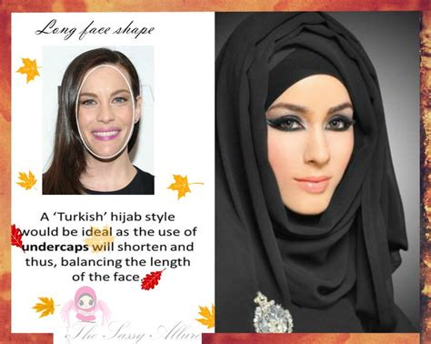 essential hijab tips long face shapes long faces