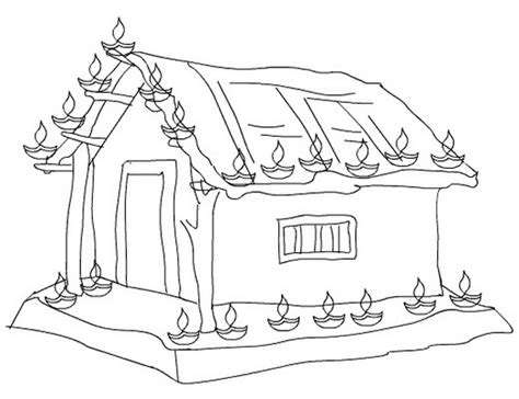 diwali colouring pages family holidaynetguide
