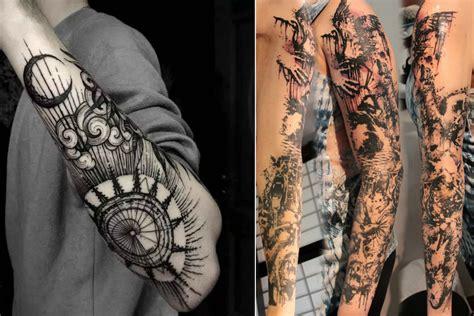 tatouage bras homme  tatouages homme en styles varies