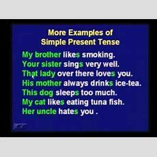 Myenglish3 Grammar1 Part 3 Simple Present Tense (american English For Cambodian) Youtube