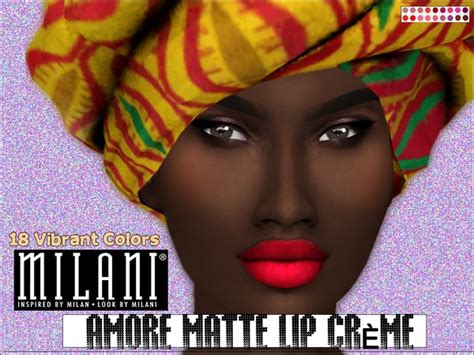 kaisims milani cosmetics amore matte lip creme set