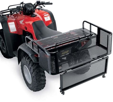 atv rack accessories ez load drop rack for your atv atv atv accessories and