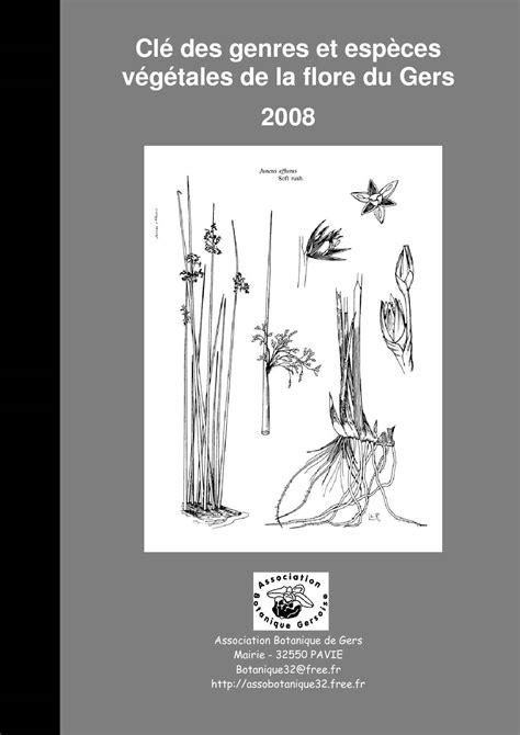Calaméo - Flore du GERS - Recueil de clés de détermination