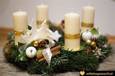 Schleifen Binden Für Adventskranz by Adventskranz Binden Mit Liebe Gemacht Mit Liebe Gemacht