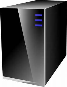 Small Server For Network Diagrams Clip Art At Clker Com