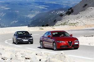 Essai Alfa Romeo Giulia : essai alfa romeo giulia vs bmw s rie 3 choc au sommet l 39 argus ~ Medecine-chirurgie-esthetiques.com Avis de Voitures