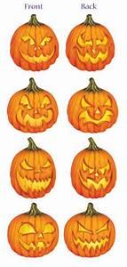 Tete De Citrouille Pour Halloween : 4 d corations citrouille en carton fiesta magic ~ Melissatoandfro.com Idées de Décoration
