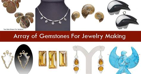 Online Jewelry Making Newsletter Array Of Gemstones For