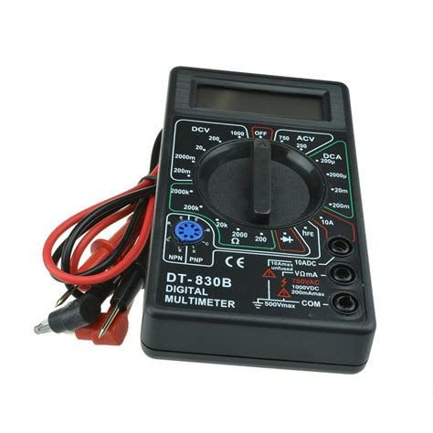 digital dt 830b multimeter ac dc voltmeter ohmmeter electrical multi tester ebay