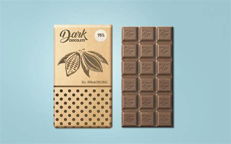This mockup has a good presentation with a clean and clear logo display. free-chocolate-packaging-mockup-psd-01 - Best Free Mockups