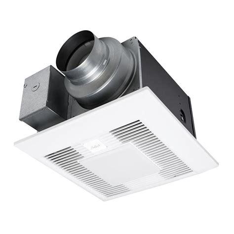 panasonic whisperwarm 110 cfm bathroom fan heat light combination panasonic whisper green select 50 80 110 cfm ceiling