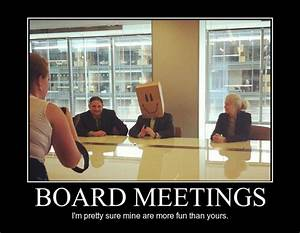 Board Meetings - Meme Guy