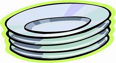 Plate Plates Clip Clipart Paper Dishes Dinnerware