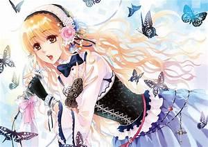 Pics For > Anime Girl Singing