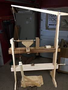 How to Build a Spring Pole and Treadle Lathe Hand Tool