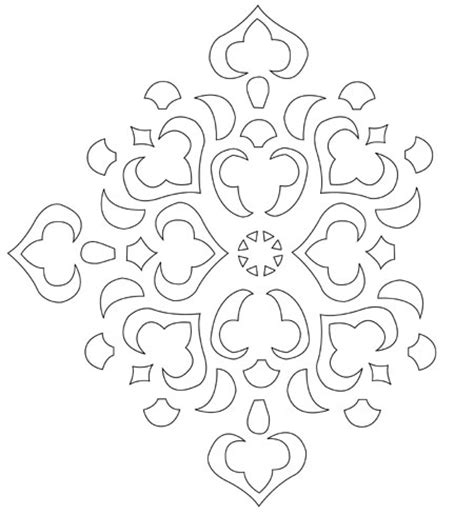 free printable flower stencils for walls 8 best images of printable wall stencils designs free