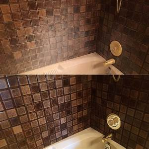 Nw grout works i grout cleaning and sealing portland or for Soap scum on shower floor