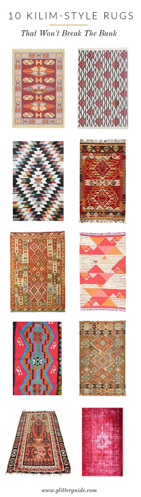 Rug Styles Guide by 10 Kilim Style Rugs That Won T The Bank New On