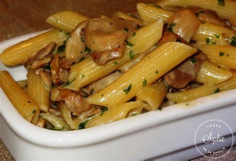 cuisiner asperges penne sauce chignons la tendresse en cuisine