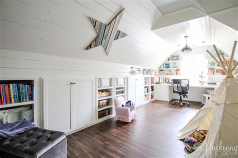 Attic Renovation Before And After- The Full Room Tour