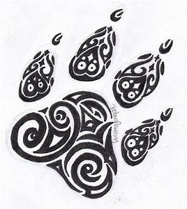 Paw Print Tattoos Designs, Ideas and Meaning | Tattoos For You