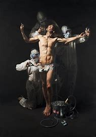 By Mitch Griffiths Painting