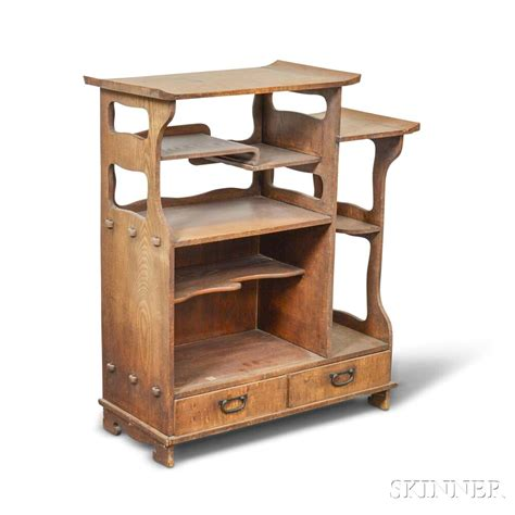 Wood Etagere by Zelkova Wood Etagere Sale Number 3009t Lot Number 1996