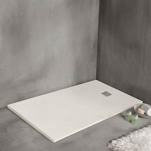 Receveur Extra Plat Brico Depot : receveur de douche 110 x 80 cm extra plat strato blanc ~ Dailycaller-alerts.com Idées de Décoration