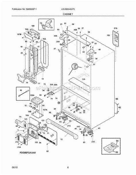 Frigidaire Lgublf Parts List Diagram