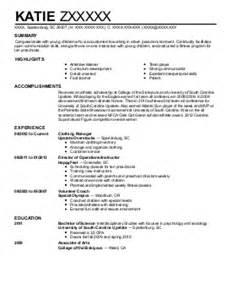 Infant Room Resume by Infant Room Resume Exle Brazos Child