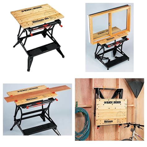 portable industrial workbench tool stand clamp table