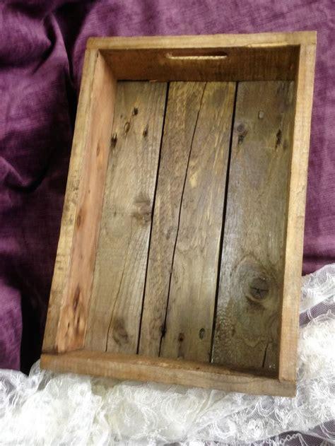 upcycled pallet box tray shelf  wnwnupcycling
