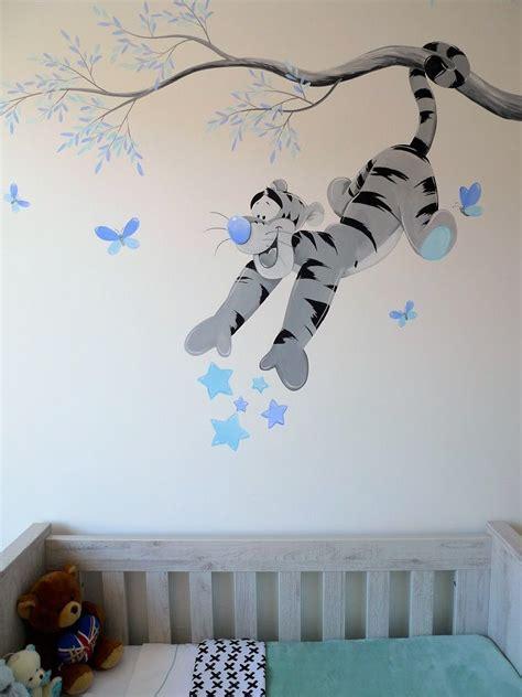 Babyzimmer Gestalten Disney by Babykamer Muurschildering Tigger Children Rooms In 2019