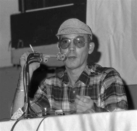 american journalist hunter  thompson  committed