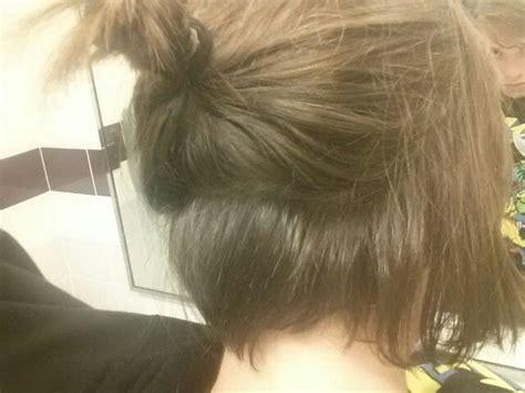 undercut  growing  yeep stylin da short hair