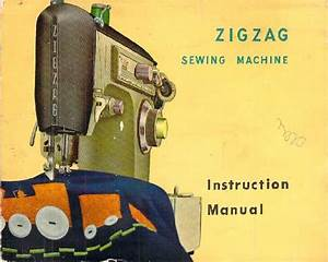Sterling Zig Zag Sewing Machine Manual