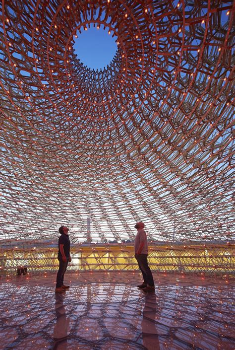 uk pavilion milan expo  wolfgang buttress archdaily