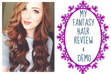 My Fantasy Hair Extensions L Review & Demo Youtube