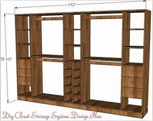Begehbarer Schrank System : diy closet storage system diy classy home projects pinterest schrank m bel und ~ Markanthonyermac.com Haus und Dekorationen